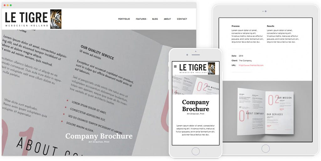 volledg responsive websites