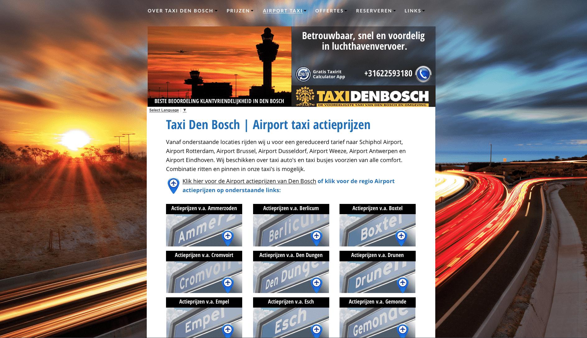 airport-actieprijzen