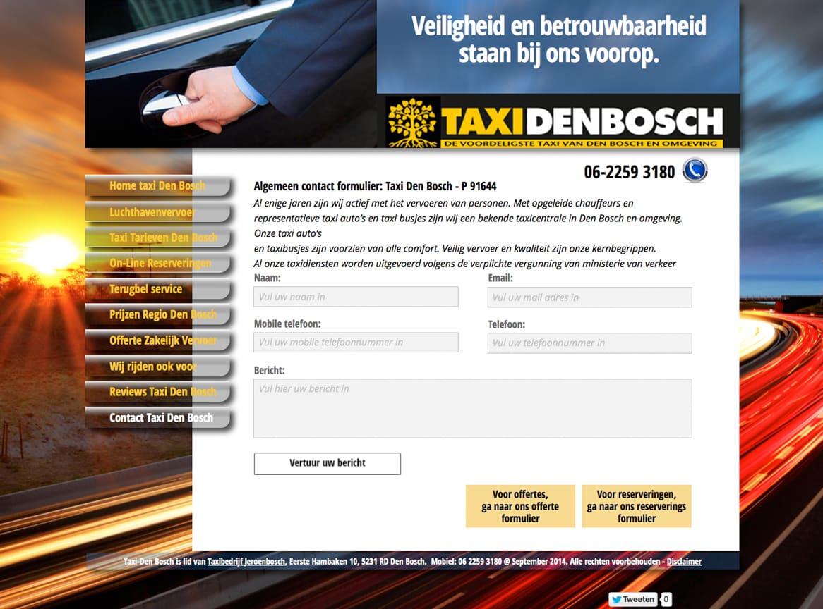 reserveringservice-taxidenbosch