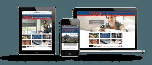 vd Berg Zonwering Responsive Webdesign - Website maken