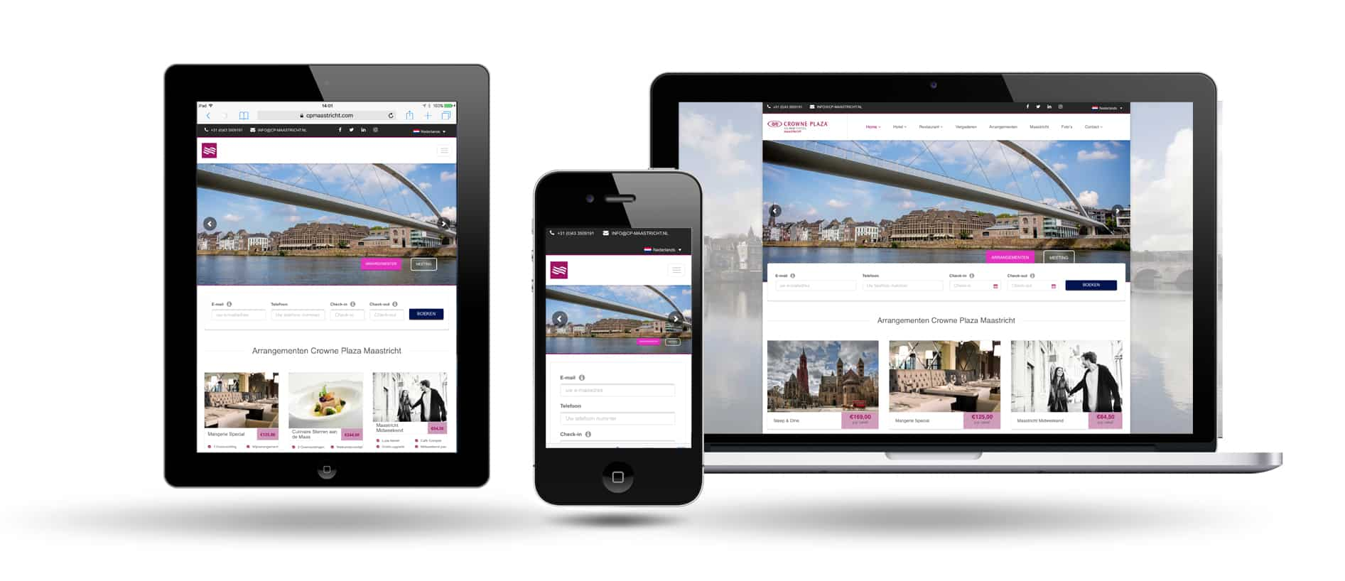 Hotel Crowne Plaza by Webdesign Maastricht