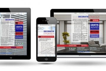 Raamdecoratie Den Bosch by Le Tigre Webdesign holland